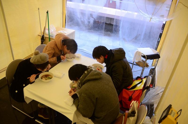 髙橋亮介『エイガ・ラーメン』2012/1/21 photo by 赤塚亮介
