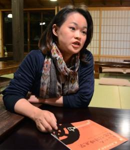 事務局長の小林華弥子さんb