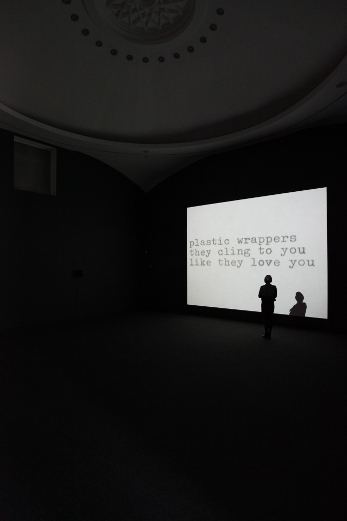 Out-takes from the Life of a Happy Man 2012. Installation view, Jonas Mekas Serpentine Gallery, London. © 2012 Jerry Hardman-Jones