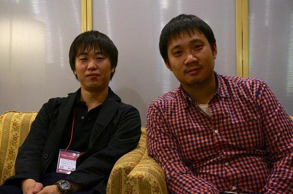 酒井耕監督(左)、濱口竜介監督